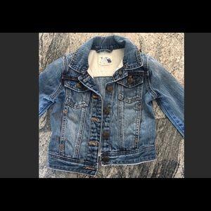 c6391528faed J. Crew Jackets & Coats | Crewcuts Rare Girls Strawberry Denim ...